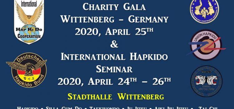 Lehrgang und Benefizgala in Wittenberg vom 24.-26.April 2020